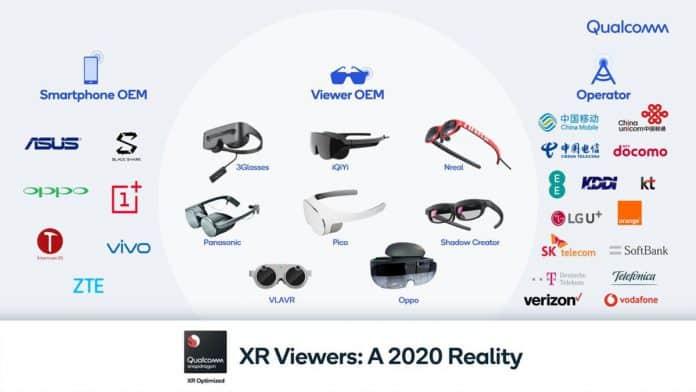Visori XR e 5G: Qualcomm e 15 operatori globali al lavoro!