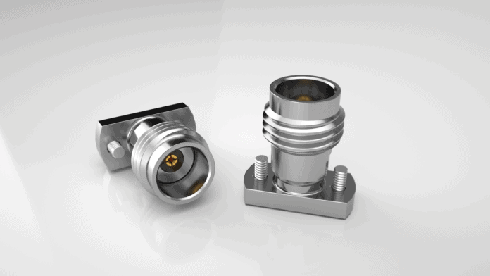 Connettore per montaggio a compressione da 2,40 mm