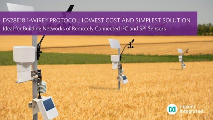 Protocollo 1-Wire per fornire una soluzione per la realizzazione di reti di sensori I²C e SPI con connessione remota