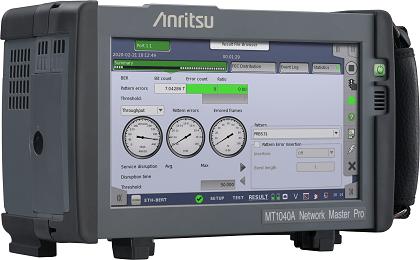 Tester di rete portatile per reti 400G