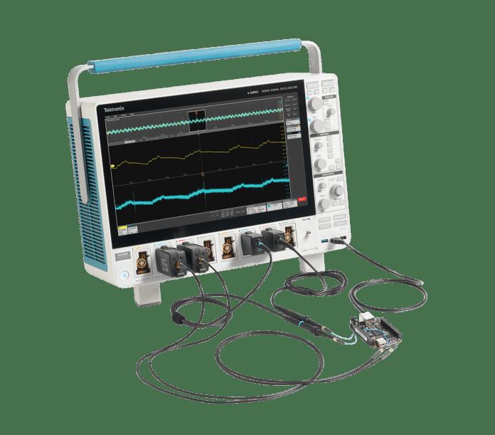 Oscilloscopio da 10 GHz con 4, 6 o 8 canali