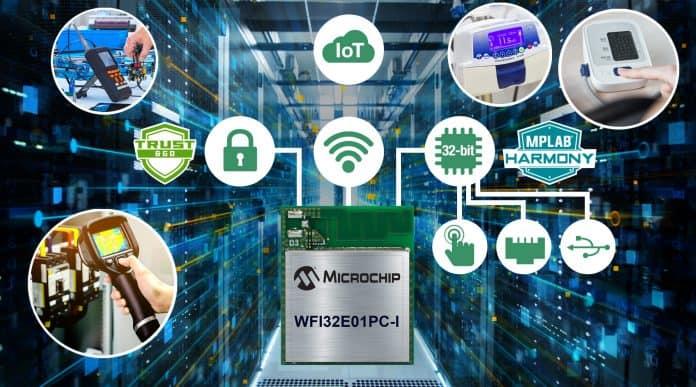 Il primo modulo MCU a 32 bit Trust&GO Wi-Fi con opzioni di periferiche avanzate