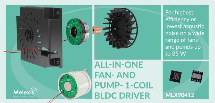 Circuito integrato per azionamento ventole e pompe a 35W