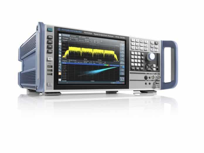 Analizzatore di spettro a larghezza di banda di 1 GHz ideale per 5G NR