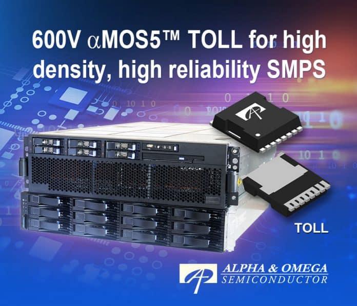 MOSFET a super giunzione da 600V a commutazione