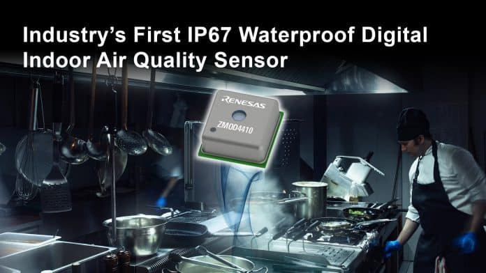 Primo sensore del settore impermeabile IP67 per ambienti ad alta umidità