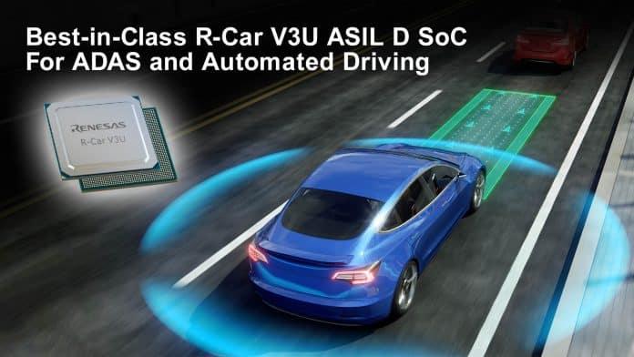 Il migliore System on Chip per ADAS e guida autonoma