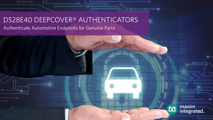 L'autenticatore sicuro per parti originali migliora la sicurezza del veicolo