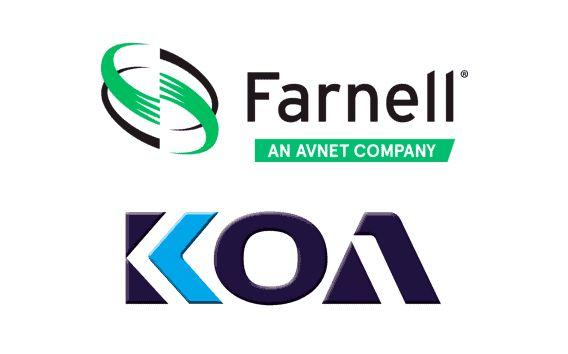 Farnell fornisce i componenti passivi di KOA