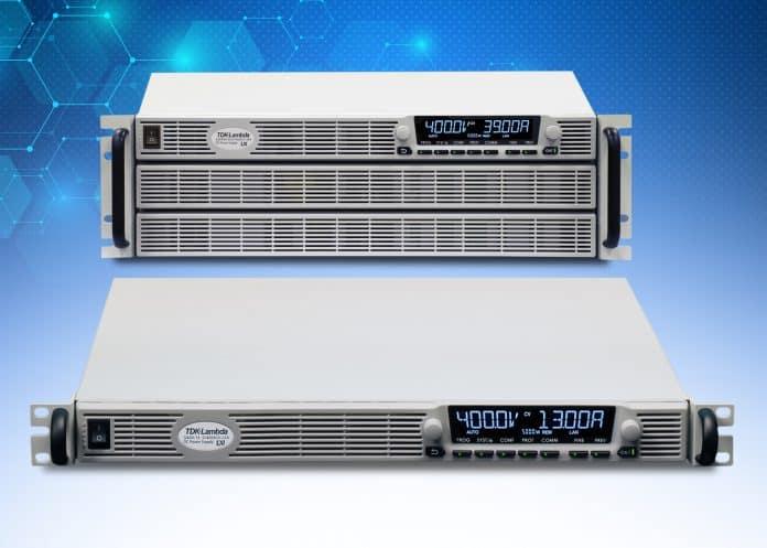Nuovi modelli di alimentatori programmabili con uscita a 50V, 400V e 500V per veicoli elettrici e ad idrogeno