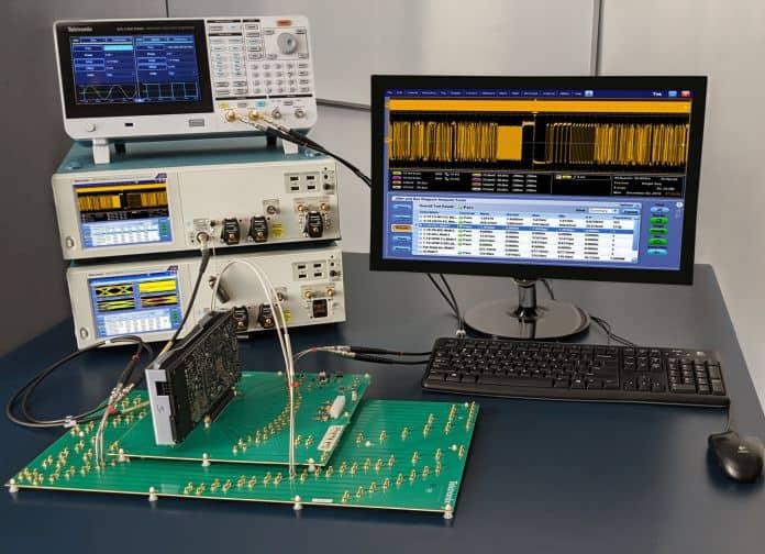 Soluzione per la verifica dei trasmettitori PCI EXPRESS 5.0 e del clock di riferimento
