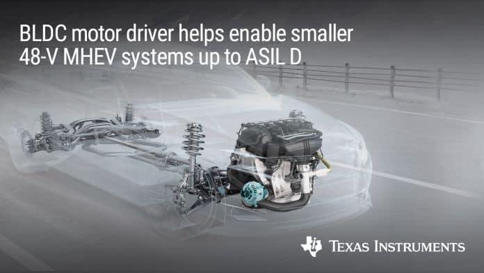 Driver per motore integrato BLDC Grado 0