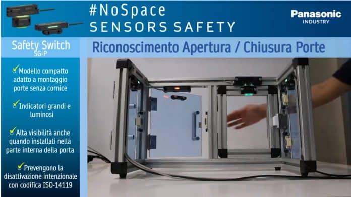 Interruttori di sicurezza per porte con indicatori ad alta visibilità