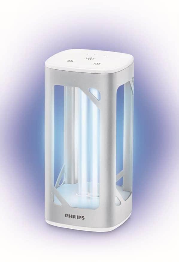 La lampada da tavolo UV-C disinfetta in modo semplice e sicuro