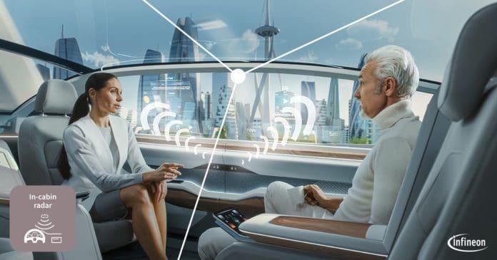I sensori radar XENSIV da 60 GHz e i microcontrollori AURIX consentono applicazioni automotive a raggio ultracorto