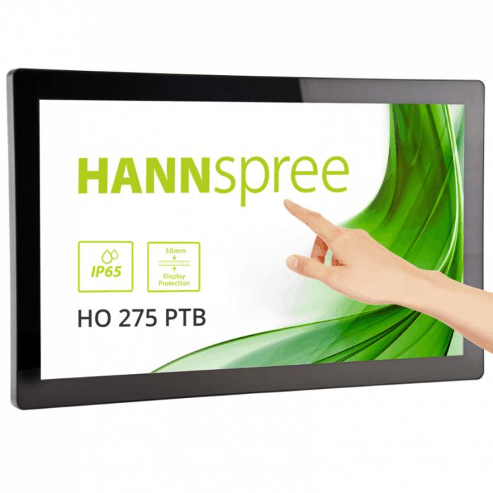 Monitor touch screen Open Frame di grandi dimensioni con classificazione IP65