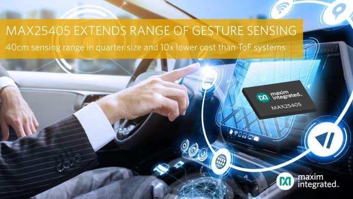 Sensore di gesti dinamici a infrarossi