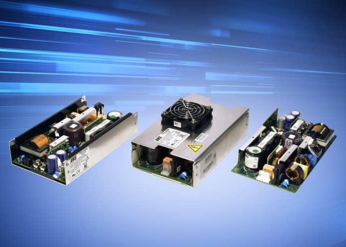 Nuove funzionalità per la serie di alimentatori medicali configurabili a basso flusso d'aria da 500W
