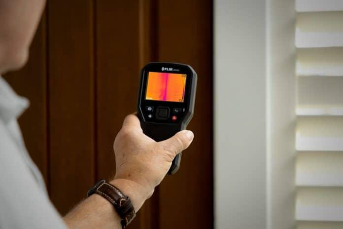 Igrometro con immagine termica