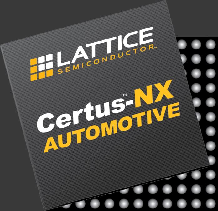 Gli FPGA Certus-NX sono ottimizzati per applicazioni automotive