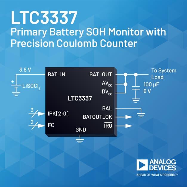 Dispositivo nanoPower per il controllo dello stato di salute delle batterie primarie