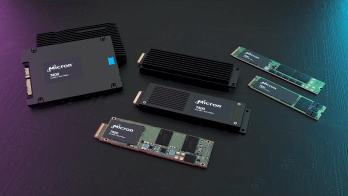 SSD Micron 7400 con NVMe fornisce prestazioni PCIe Gen4 per data center